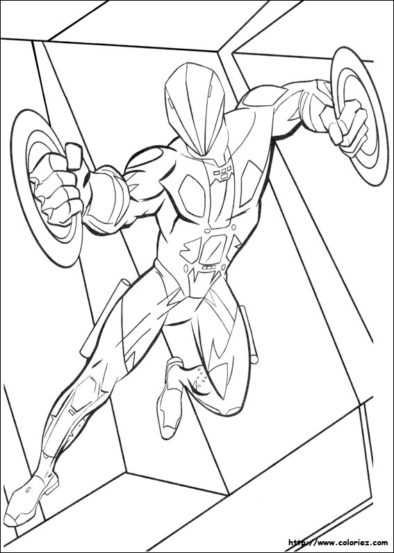 Tron Spiderman Lego Coloring Pages