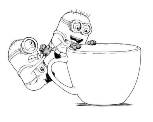 coloriage de minionrush