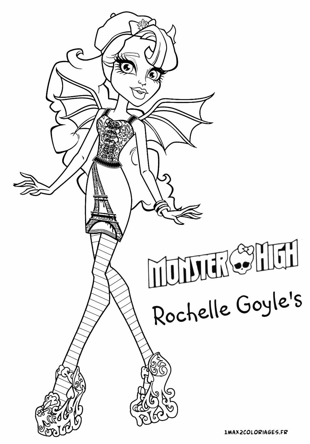 Dessin de Monster High   imprimer