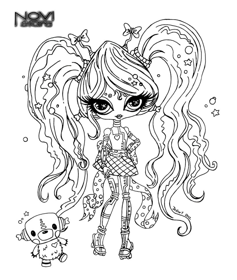 Coloriage monster high baby les beaux dessins de - Coloriage monster high baby ...