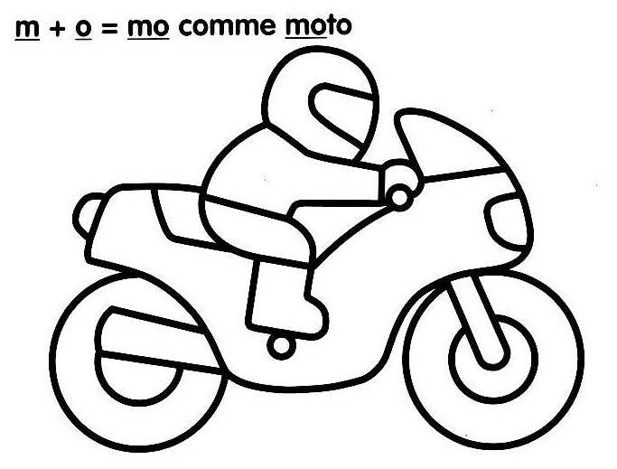 Dessin Simple Moto