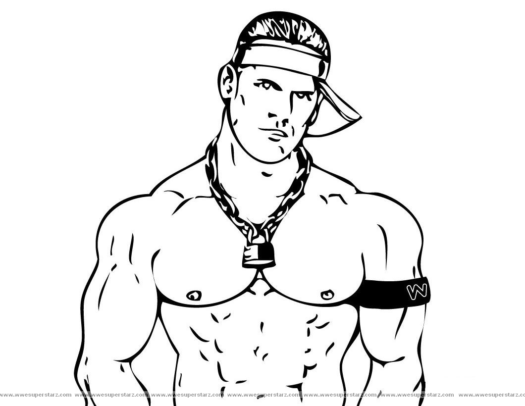 coloriage de musculation