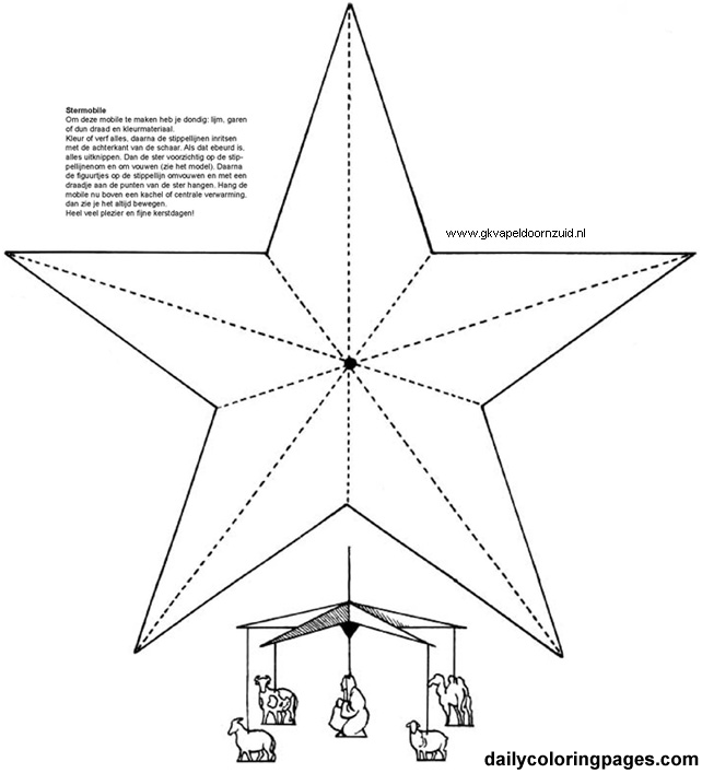 how to make a star ndt