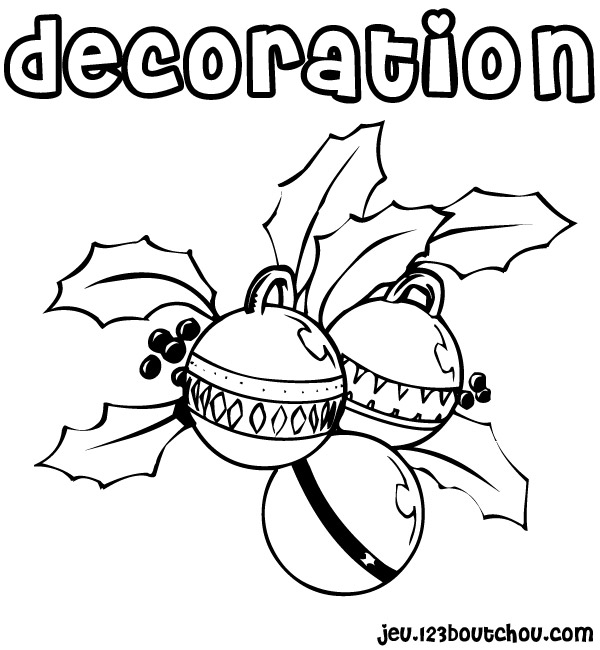 Charming dessin de decoration de noel 9 design decor for Decoration noel dessin
