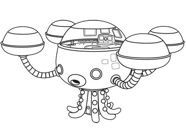 octonauts gup x coloring pages - photo#16
