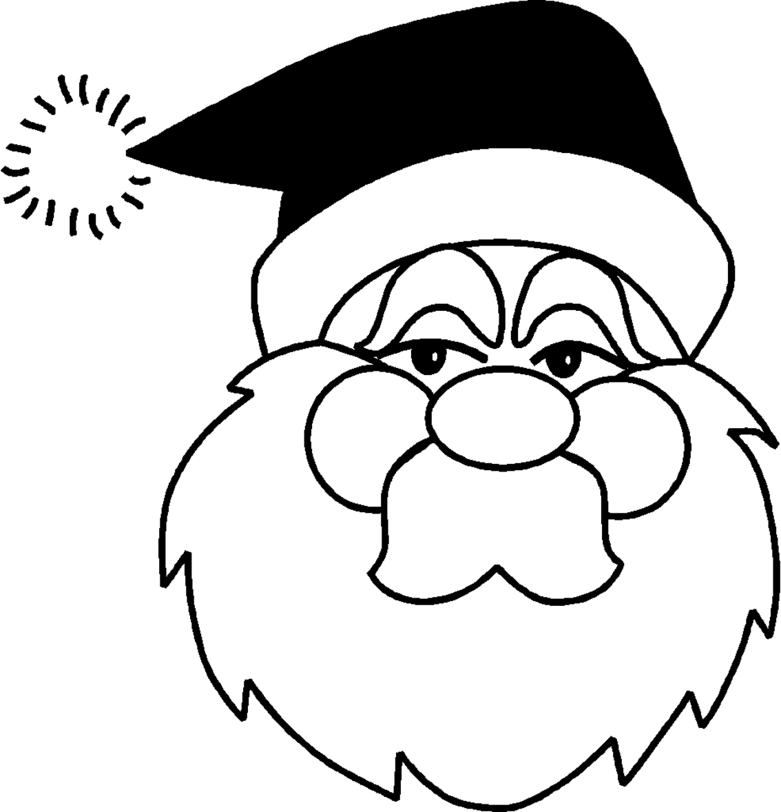 Coloriage pere noel les beaux dessins de f tes for Angeli da stampare e colorare
