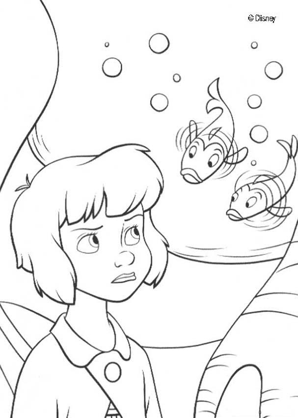 coloriage de peterpan
