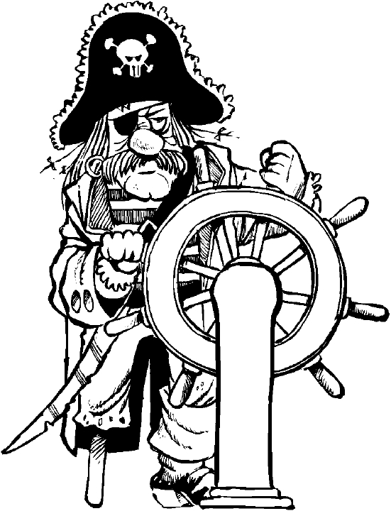 Coloriage Pirate Les Beaux Dessins De Super Héros à