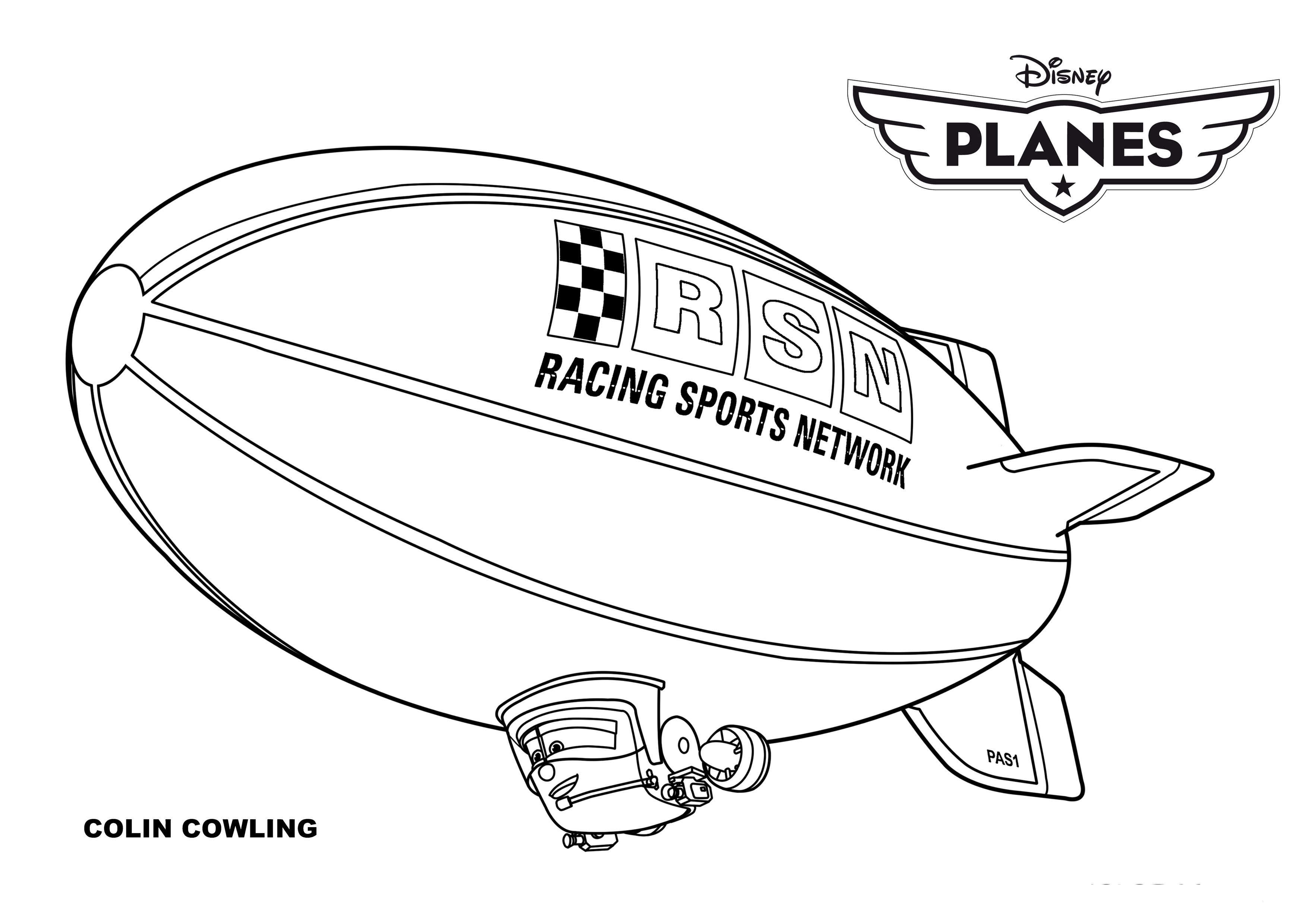 Exelent Coloriage Planes 2 Cabbie Ensign - Coloring Pages Of Animals ...