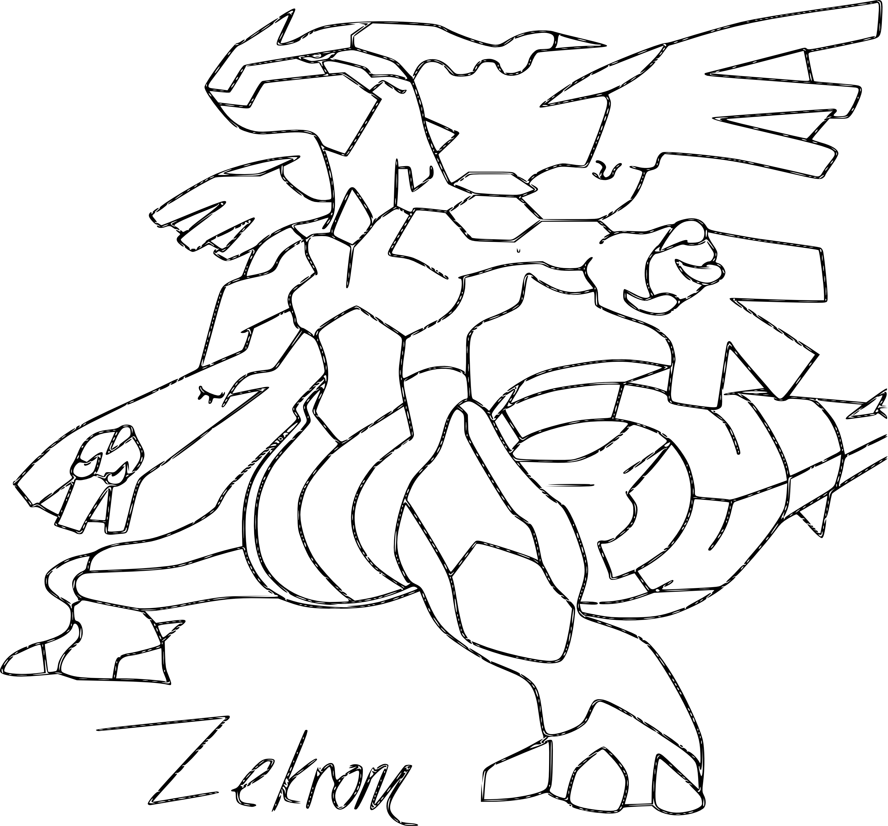 Dessin de Pokemon   imprimer · coloriage de pokemon