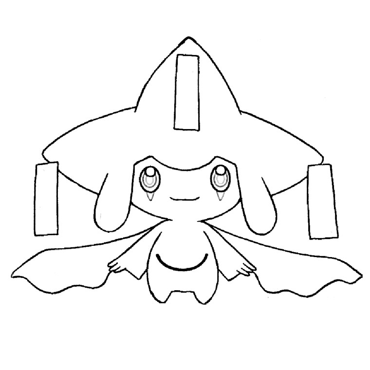 coloriage de pokemon - Dessin Facile Pokemon