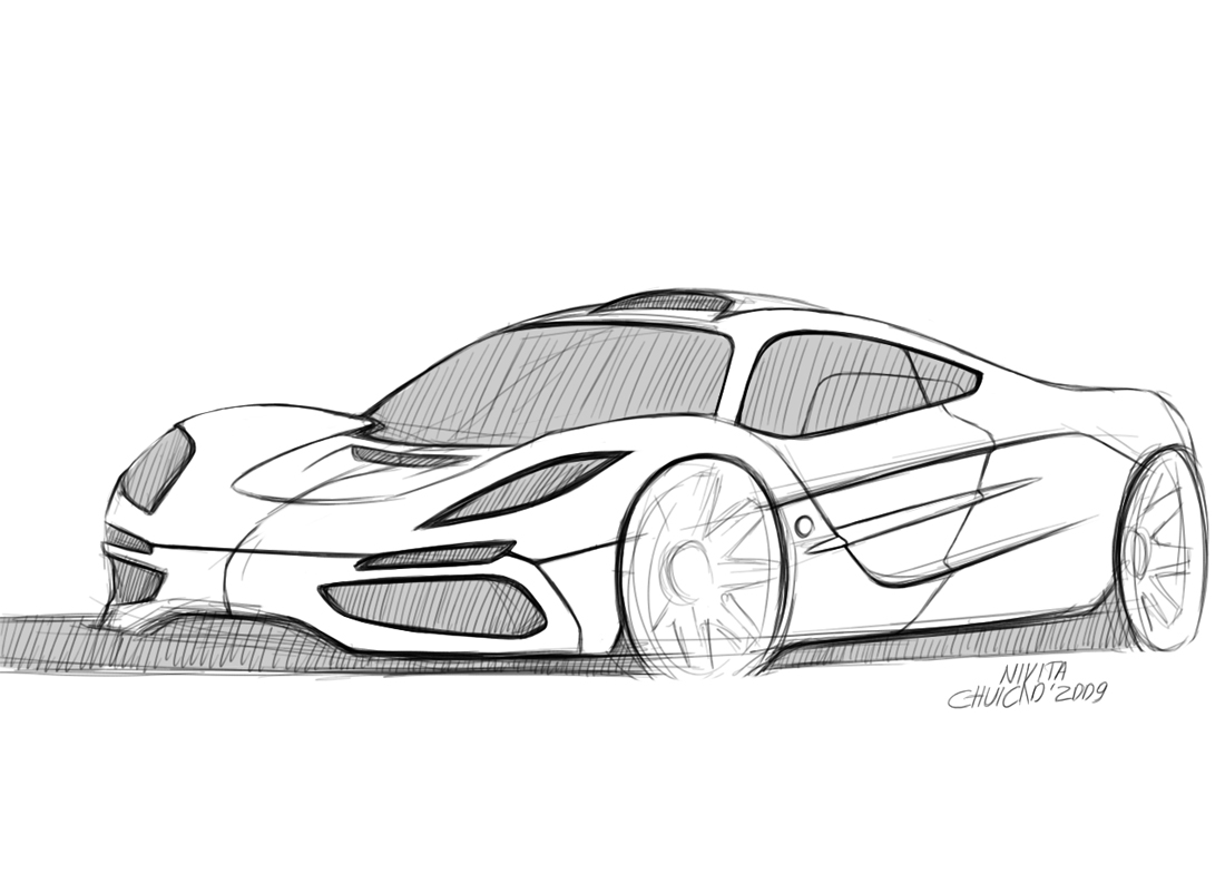coloriage porsche les beaux dessins de transport