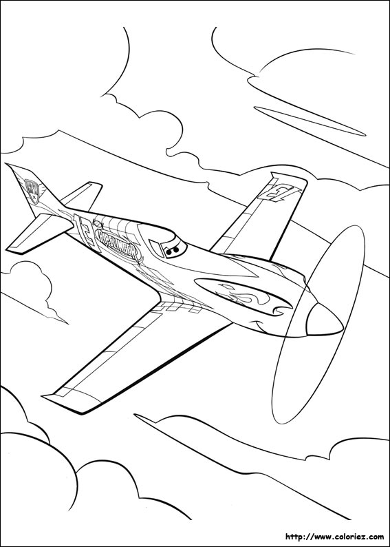 coloriage de porteavion