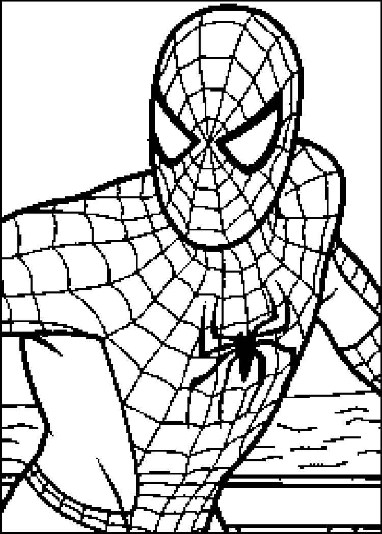 Coloriage Spiderman Les beaux dessins de Super H ros