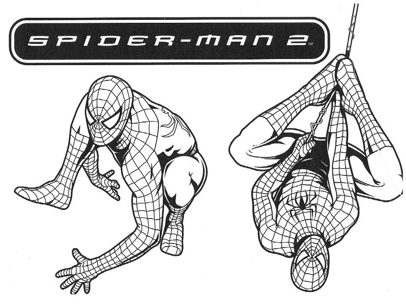 Coloriage spiderman les beaux dessins de super h ros imprimer et colorier page 17 - Dessins animes spiderman ...