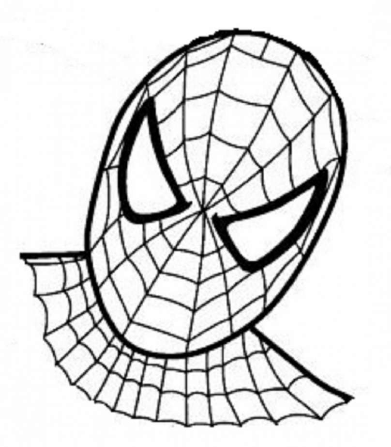 Coloriage spiderman les beaux dessins de super h ros - Spider man en dessin ...