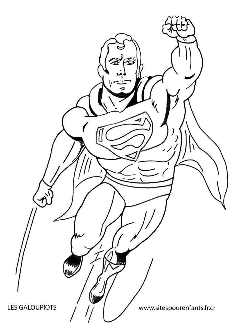 Coloriage super heros marvel les beaux dessins de - Dessin de super heros ...