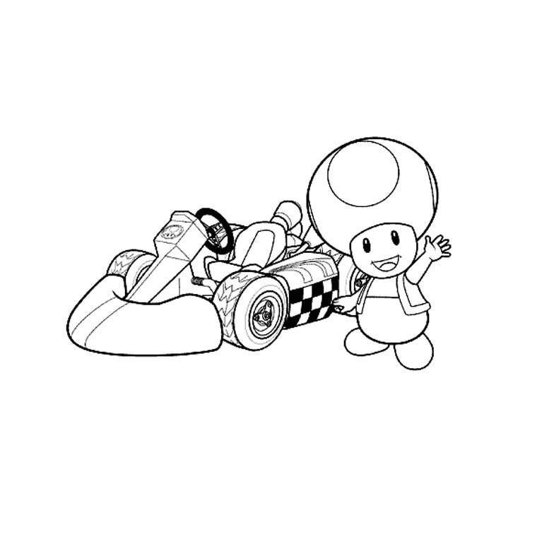 coloriage de supermariobros