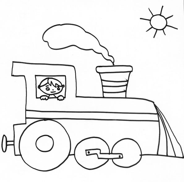 Coloriage train les beaux dessins de transport imprimer et colorier - Train dessin anime chuggington ...