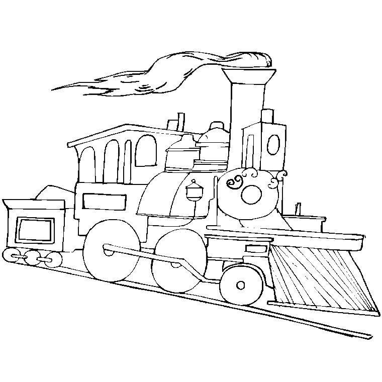 Coloriage wagon les beaux dessins de transport imprimer et colorier - Dessin de transport ...
