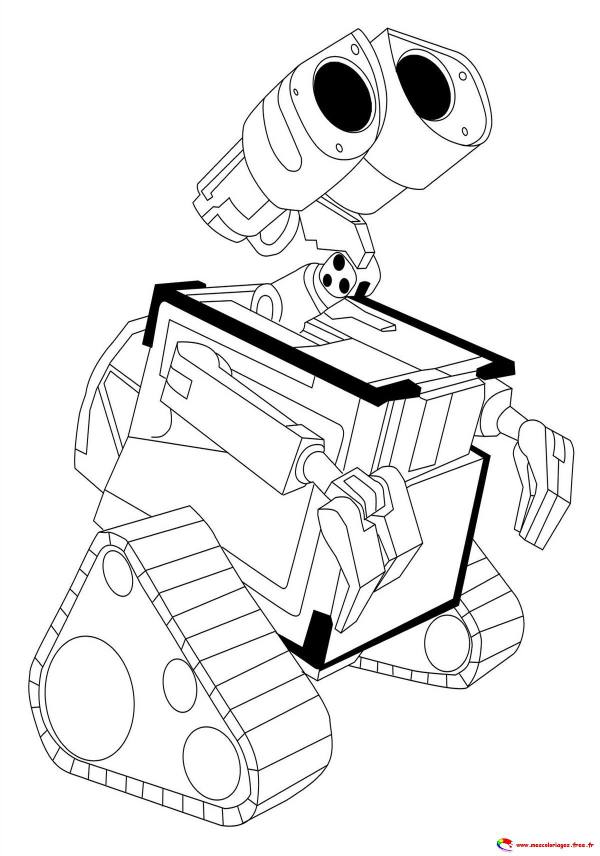 coloriage de walle