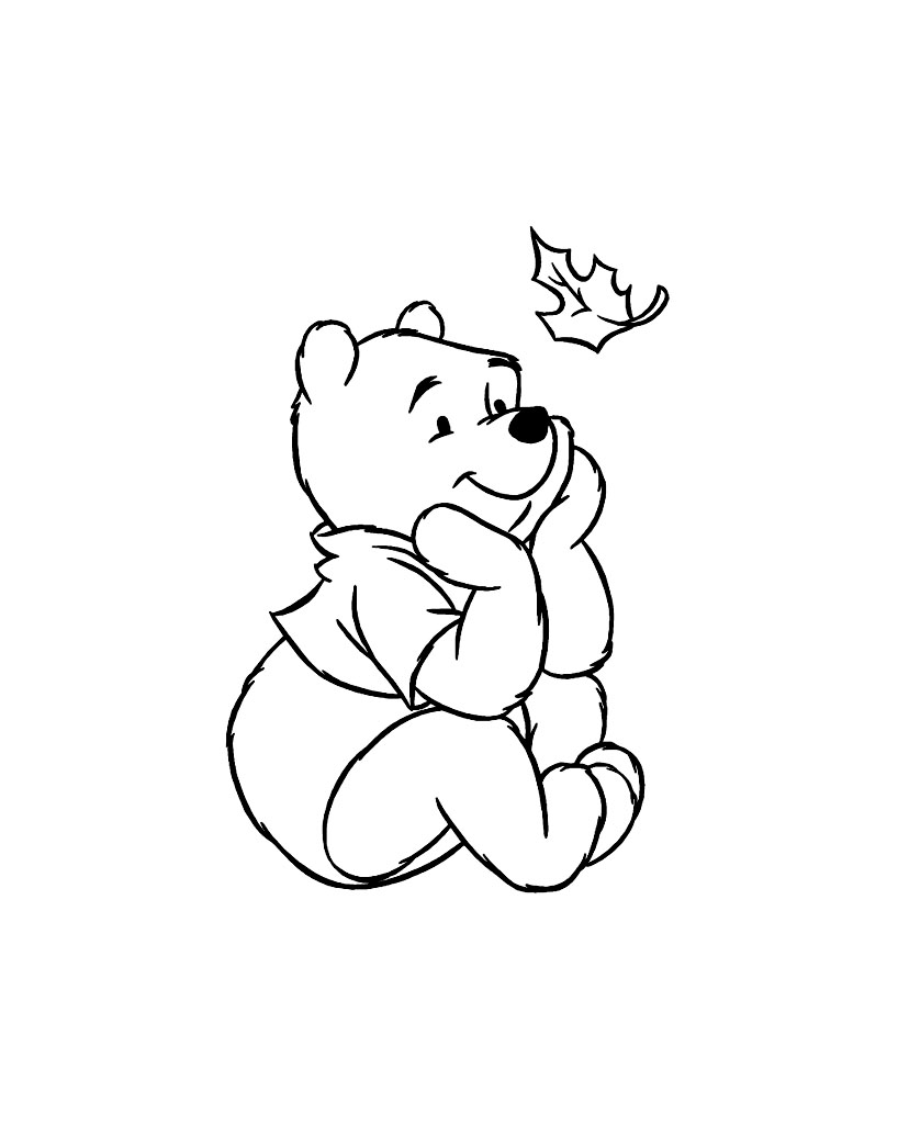 coloriage winnie l u0027ourson les beaux dessins de dessin animé à